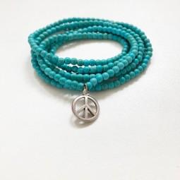 Zarte(s) Peace Armband/Kette