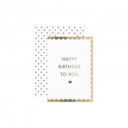 Schön, dass es dich gibt - Happy Birthday To You Klappkarte