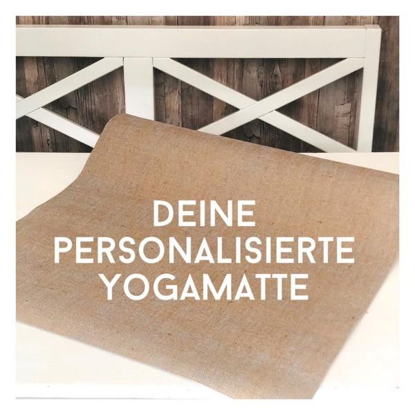 Personalisierte Yogamatten von Herzteil