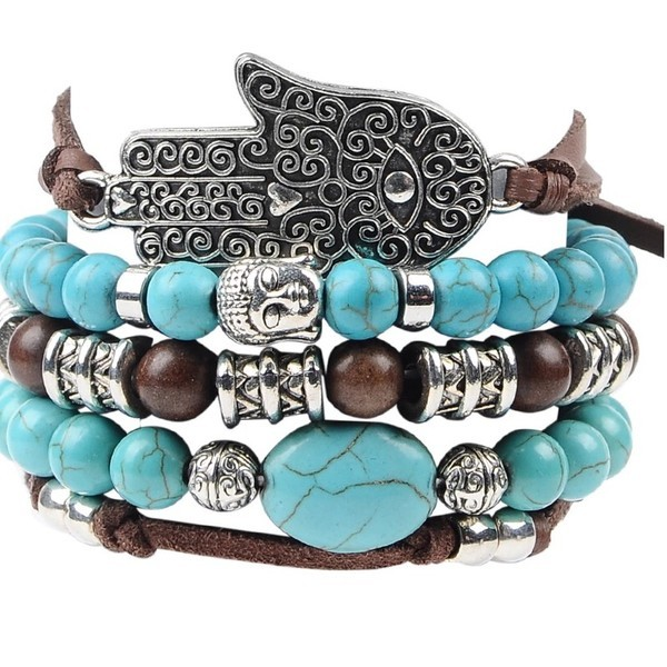 Boho Statement Armband Set