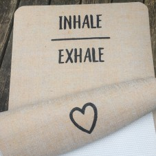 Design Yogamatte Inhale Exhale
