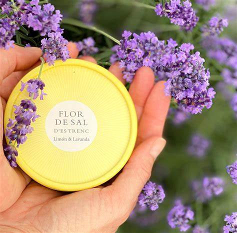 Flor de Sal d`Es Trenc - Zitrone und Lavendel Limited Edition