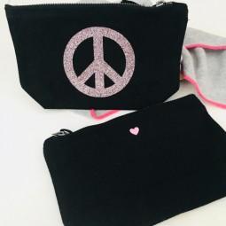 Give Peace a Chance Täschchen von oh.hey.girl <3