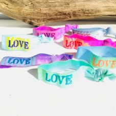 Good Karma Stretch Armband LOVE