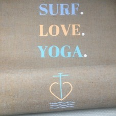 Surf.Love.Yoga. - Yogamatte by Herzteil