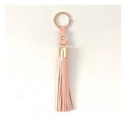 Tassel Schlüsselanhänger aus veganem Leder