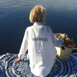 Irgendwo ist immer Sommer - Mermaid Hemdbluse