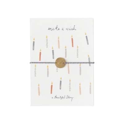 Make a wish Armband
