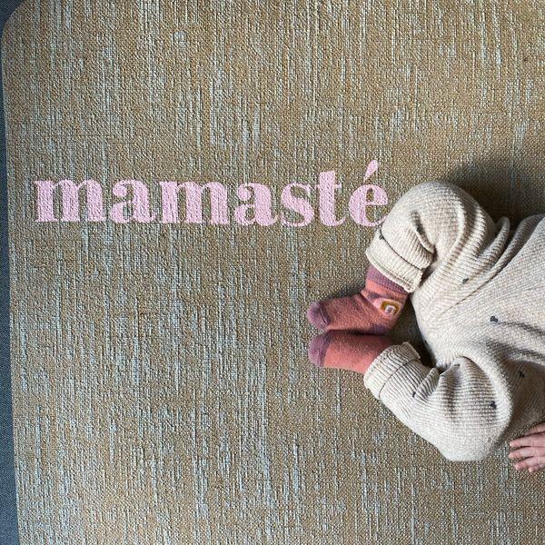 ♥ Mamasté ♥ Yogamatte von Herzteil
