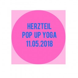 Pop Up Yoga in Kaufbeuren by Herzteil