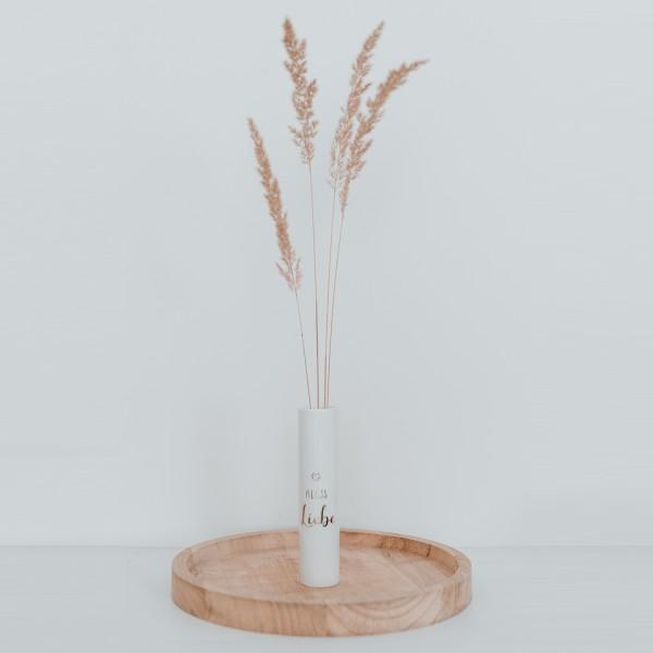 Throw Love Arround Like Confetti - Alles Liebe Vase