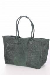 Die passt zu Allem - Leder Handtasche