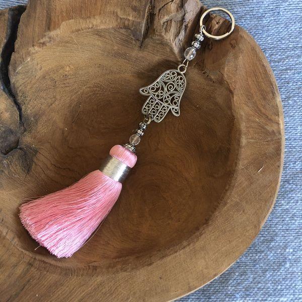Made With Love In Marrakech - Quasten Schlüssel-/Taschenanhänger