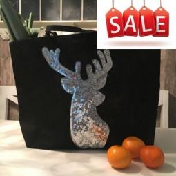 Großer Hirsch Shopper - Sale