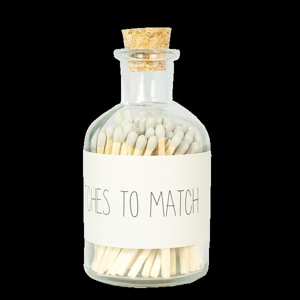 Nachhaltiges Design - Matches zu Match Zündhölzer