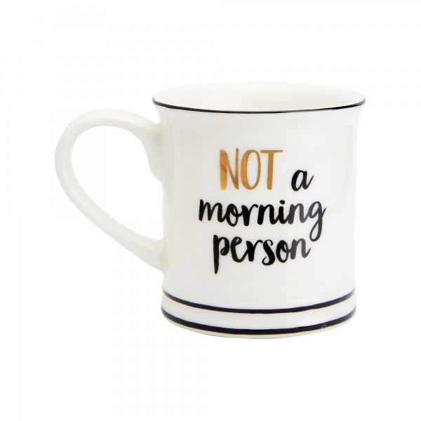 Not A Morning Person - Espresso Tasse