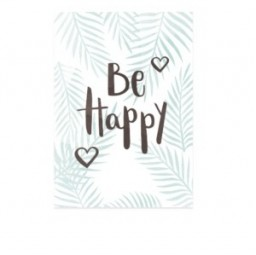 Don`t worry..... Be Happy Postkarte