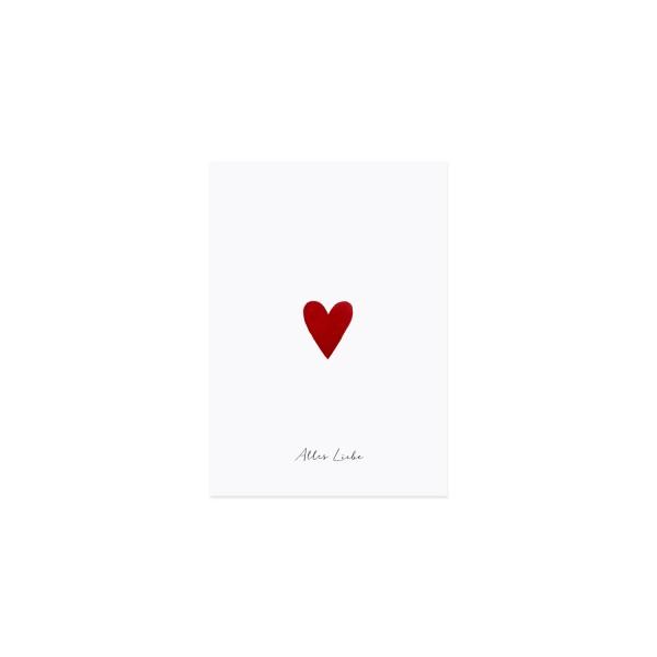 Alles Liebe.... Postkarte