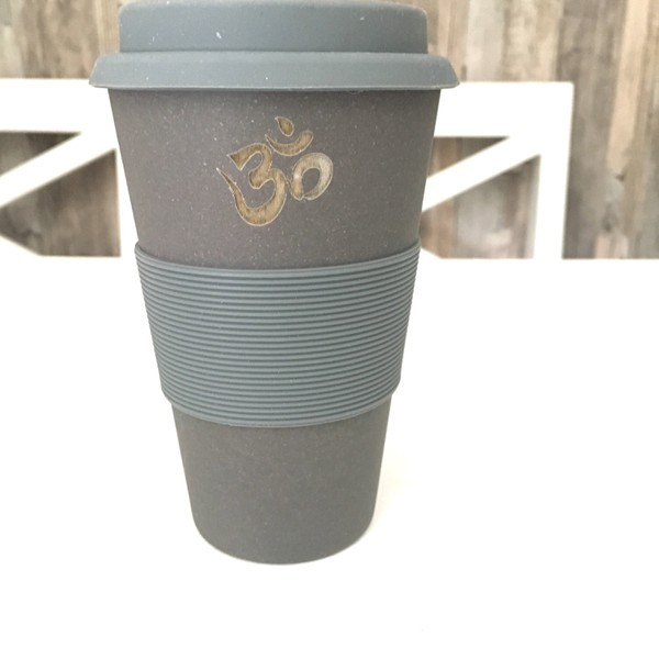 coffee to go becher aus bambus herzteil. Black Bedroom Furniture Sets. Home Design Ideas