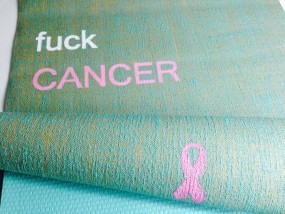 fuck CANCER - unsere Charitymatten-Aktion