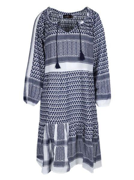 Blue Pali Love Kleid - 100% Baumwolle