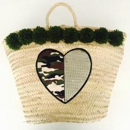 Herzteil Camouflage Heart Korb