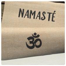 Hand bemalte Yogamatte - Namaste