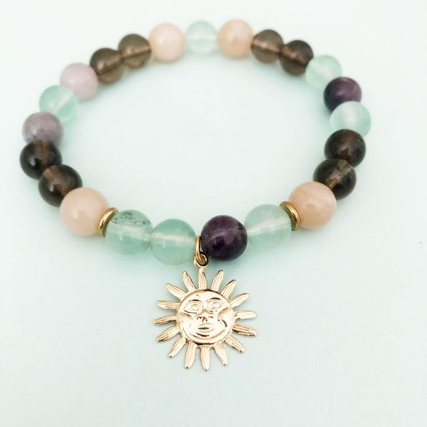 Herzteil Sunshine On My Mind Armband