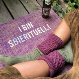 I bin sbierituell - bayerische Yogamatte