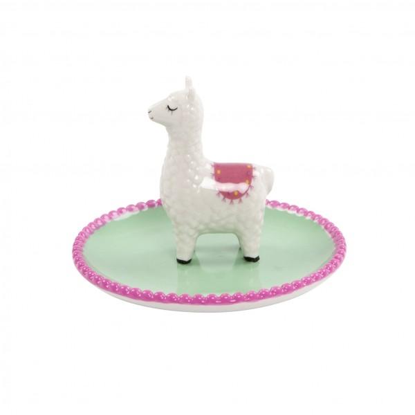 Soo süß - der Lama Schmuckteller