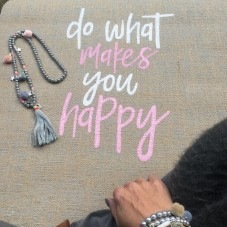 Do What Makes You Happy -Yogamatte by Herzteil