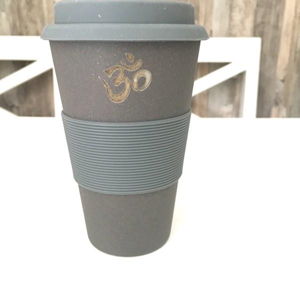 Soo hübsch - der Coffee to Go Bambus Becher in anthazit