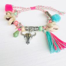 Get The Bohemian Feeling .... Bull Armband/Fußkette
