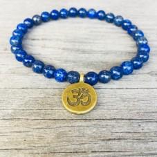 Zartes Lapis Lazuli Armband - Yoga Schmuck by Herzteil