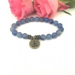 Buddha Love Aventurin Armband - Yoga Schmuck by Herzteil