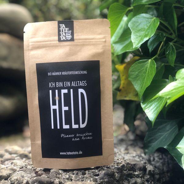 Ich bin ein Alltagsheld - Bio Kräuter Tee