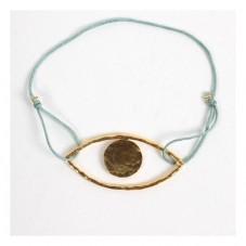 Gold Eye Armband