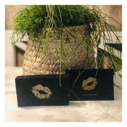 Nachhaltiger Kiss Schwamm - gold