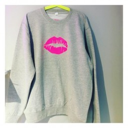 Neon Kiss Sweater