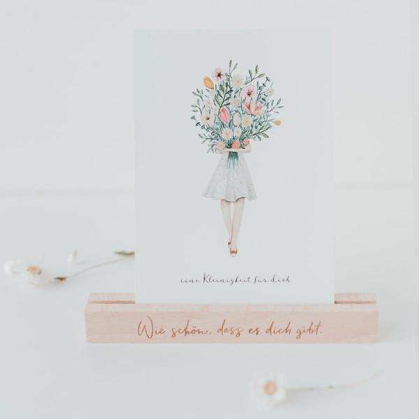 Eine Kleinigkeit für dich.... Postkarte