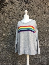 Over The Rainbow Cashmere Pullover - SALE