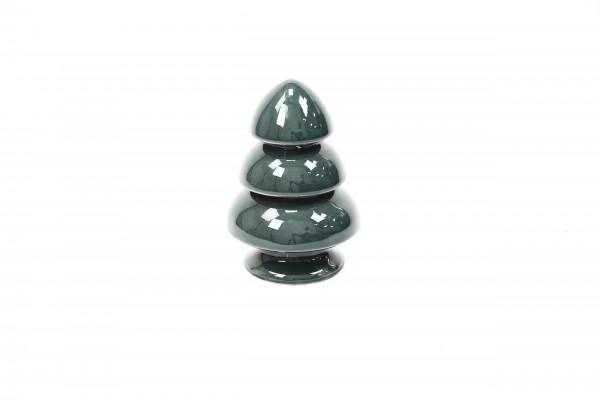 Keramik Tannenbaum grün