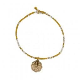 Vergoldetes Glücks-Armband