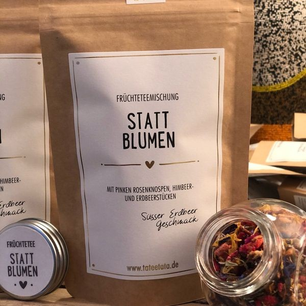 Statt Blumen - Bio Tee
