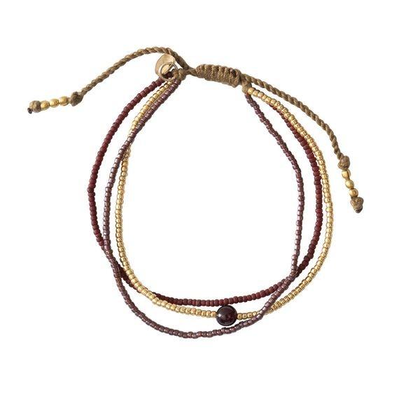 Motivations Granat-Armband