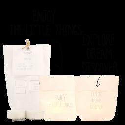 ENJOY THE LITTLE THINGS - Lichtertüten Set