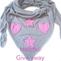 Herzteil Give away Aktion