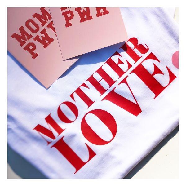 Whatelese bei Herzteil - Mama Love T-shirt Bio