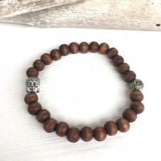 Yogi Holz-Armband
