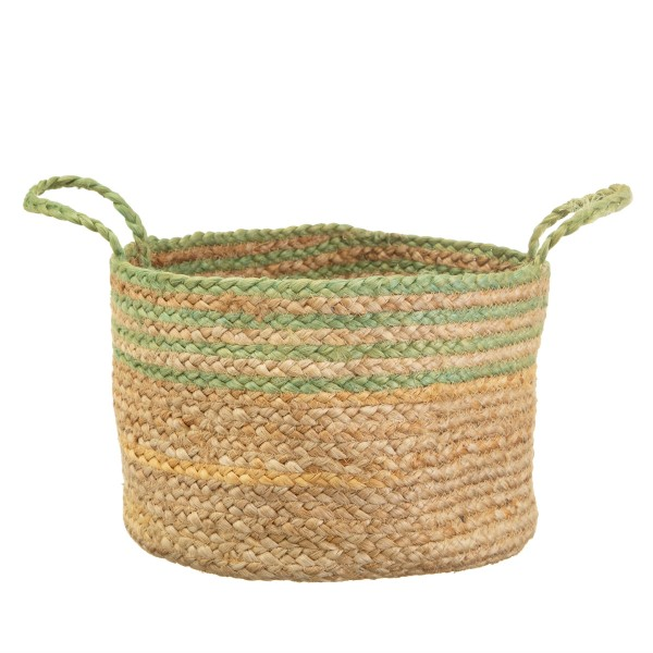 Indian Green Jute Korb